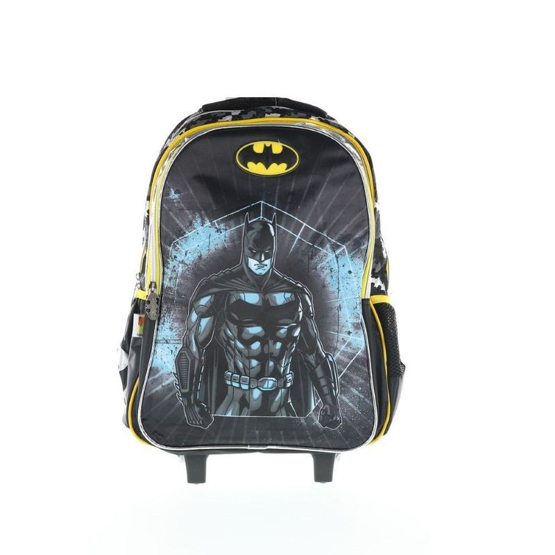 Batman Trolley Bag 2 Main Compartments And 2 Side Pockets 18