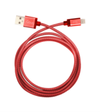 Goui 8 PIN USB CableMetallic Red