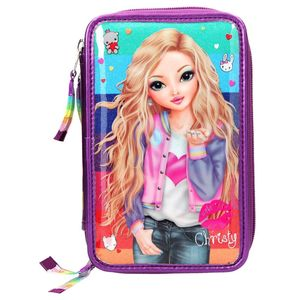 Topmodel Filled Pencil Case Triple
