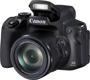Canon Powershot Sx70 Hs Bridge Camera 20.3 Mp Cmos 5184 X 3888 Pixels 1/2.3 Inch Black