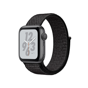 Apple Watch Nike+ Series 4 Gps 40Mm Space Grey Aluminium Case With Black Nike Sport Loop