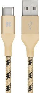 Promate Usb Type A To Usb 3 1 Type C Gold