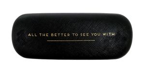 Alice Scott All The Better to See You with Black Glasses Case