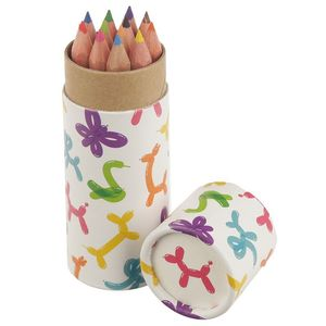 Fun Kids Colouring Pencil Tube Balloon Animals