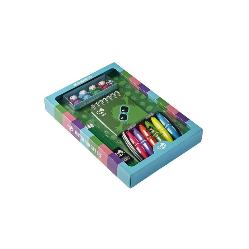 Jotter Pad Gift Set Green