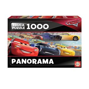 1000 Cars Panorama Puzzle