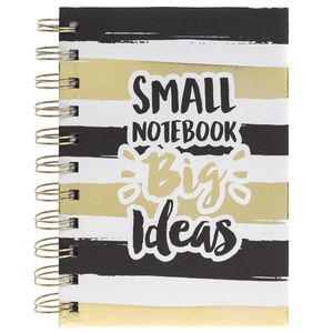 Big Ideas Gold A6 Notebook