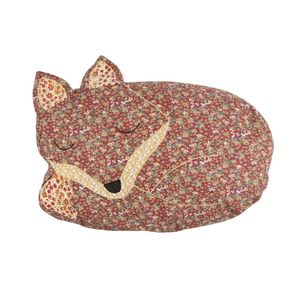 Sleeping Fox Cushion With Inner