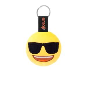 Emoji Sunglasses Official Yellow Keychain