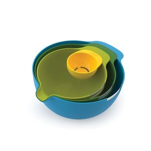 Nest Mix 3Bowls + Eggseparator Set=4Pcs
