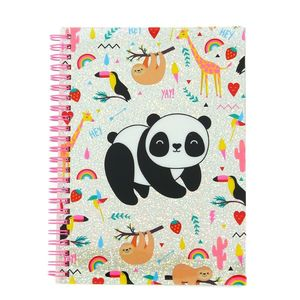 Blueprint Happy Zoo Just Hangin' A5 Notebook