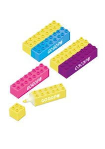 GoGoPo Building Blocks Highlighter [2 Pack]