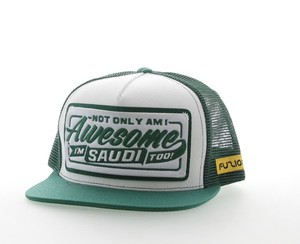 Fuzion Awesome 003 Saudi Flat Baseball Cap
