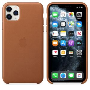 iPhone 11Pro Leather Case Saddle Brown