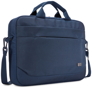 "Case Logic Advantage 14"" Attaché notebook case 35.6 cm (14"") Messenger case Blue"