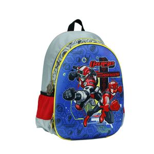 Power Rangers Red Ranger 14 Hard Moldedjunior Backpack With 2 Compartments & 2Side Pockets
