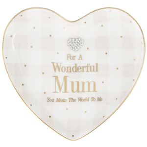 Mad Dots Mum Heart Dish