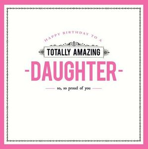 Totally Amazing Daughter