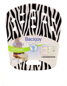 Backjoy Sitsmart Posture+ Zebra/Bk Large
