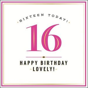 16 Happy Birthday Lovely New