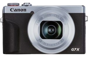 Canon PowerShot G7 X Mark III Compact camera 20.1 MP CMOS 5472 x 3648 pixels Black,Silver
