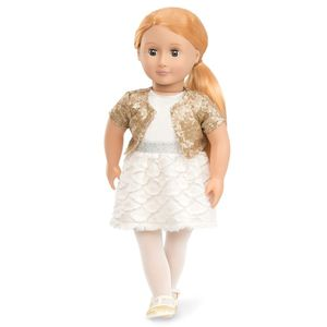 Doll In Sequin Outfit