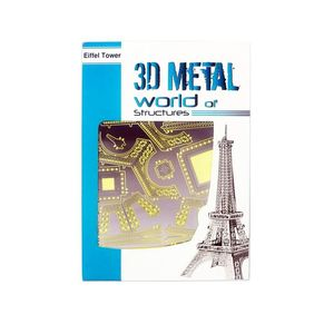 Promotional 3D Metal World La Tour Eiffel Puzzle
