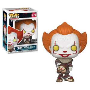 Pop Movies It Chapter 2 Pennywise W Beaver Hat Exc