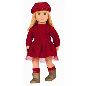 Doll With Red Dress