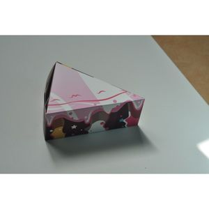 Colorful Layered Cake Box For Gifts Andcandy
