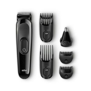 Braun Multigroomer Mgk5060 Beard Trimmer Black, Gray