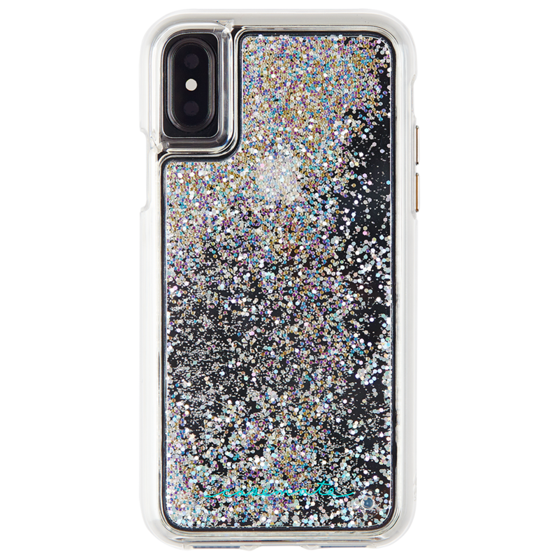 new arrival d43ea c3180 Case mate iphone xs x twinkle stardust