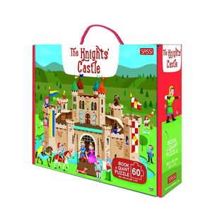 Giant Puzzle And Book The Knights' Castle