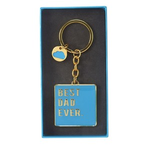 Cloud Nine Best Dad Keyring