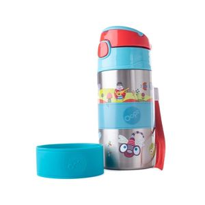 Chic Stainless Steel Bottle Small World