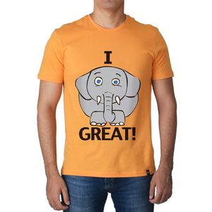 SS Men s T Shirt Apricot I Feel Great