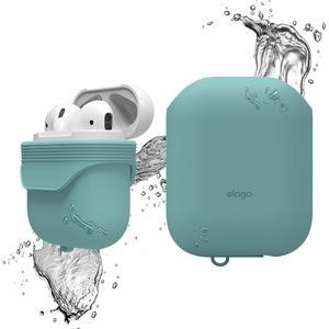 AirPods Waterproof Case Coral Blue