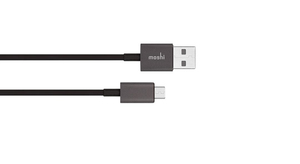 Moshi 99MO023008 USB cable 1 m USB A Micro-USB A Male Black