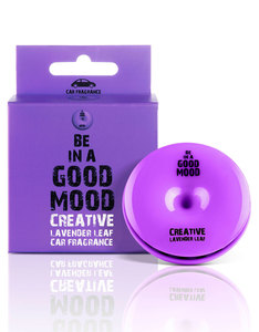 Good Mood Creative Lavander Leaf Car Fragrance 0.52 Oz.