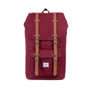 Herschel Little America Windsor Wine/Tan Synthetic Leather Backpack