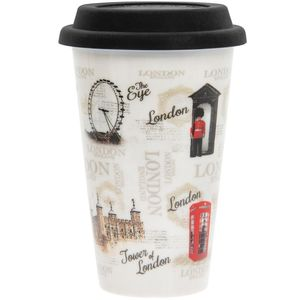 Vintage London Travel Mug