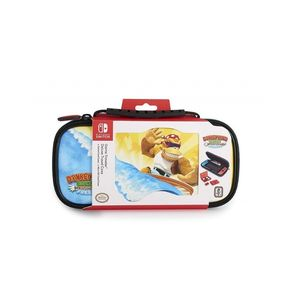 Nintendo Switch Game Traveler Deluxe Travel Case Dkc Tropical Freeze Art D WitHPadded Divider Mesh Pocket