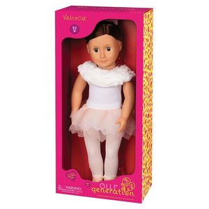 Doll With Feathery Ballet Skirt