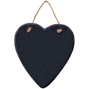 Slate heart blackboard