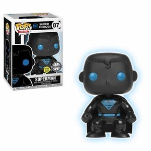 Pop Movies Dc Jl Superman Silhouette Glow
