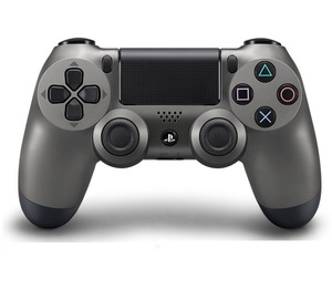 Sony Dualshock 4 V2 Steel Black Controller PS4