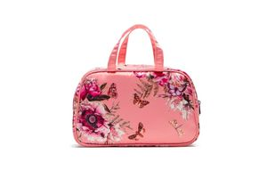 The Butterfly Garden Travel Wash Bag with Han