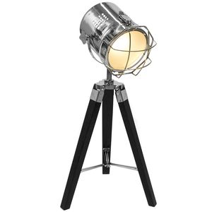Hollywood Tripod T Lamp Black