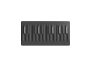ROLI Seaboard Block MIDI keyboard 24 keys Black USB