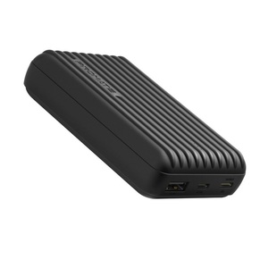 Promate Rugged Power Bank With Usb C Black